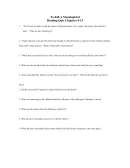 to kill a mockingbird chapter 13 15 summary