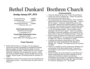 Bethel Dunkard Brethren Church