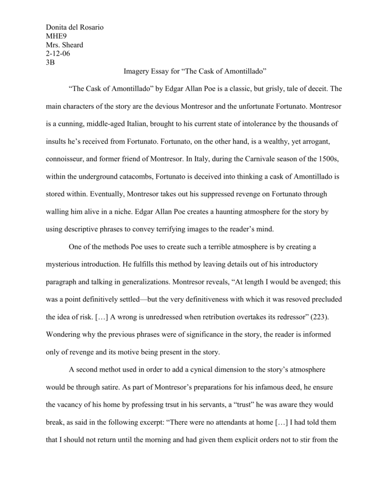 Essay Proposal Outline Imagery Essay Macbeth  English Essays For Kids also Sample Essays High School Students Imagery Essay Blood Imagery In Macbeth Essay Example For Students  English Essay Writing Examples