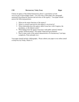 chapter the federal bureaucracy questions bureaucracy essay