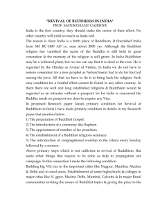 revival of buddhism in india