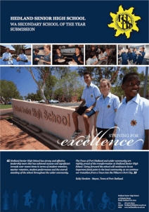 Hedland-Senior-High-School-Application