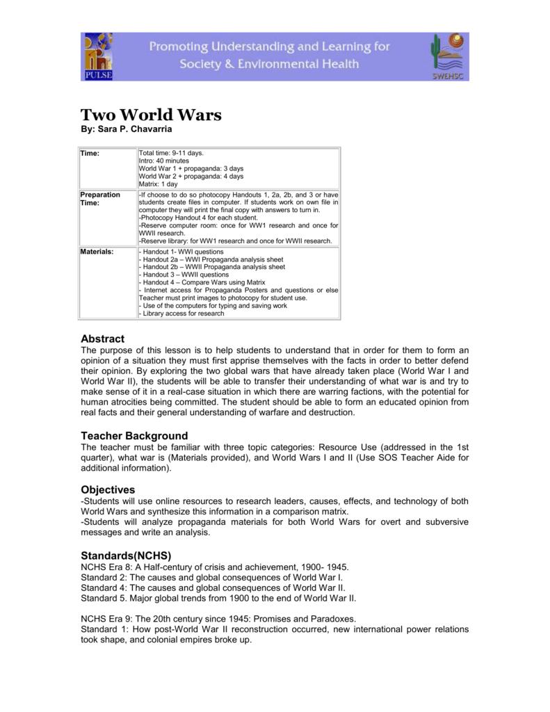 causes of world war 2 pdf