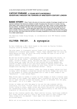 Oliver Twist        SlideShare