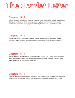 Chapters 15-17 Relationships and attitudes are changing. How has