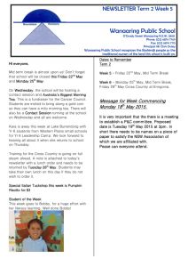 20 Newsletter Term 2 Wk 5 2015 Week 21 [doc, 6 MB]