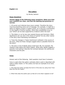 The_Lottery_Essay_questions.doc