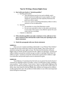 Tips for Writing a Human Rights Essay.doc