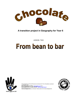 Chocolate2-FromBeanToBar_LESSON_PLAN.doc