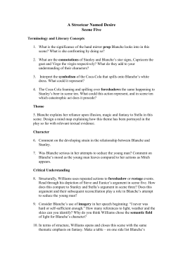 A Streetcar Named Desire Unit Test Study Guide ... - Quizlet