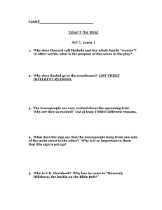 Act One, Scene 1 Study Guide