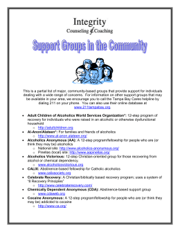 Support Groups in the Community