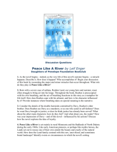 Peace Like a River - Daughters of Penelope Foundation, Inc.