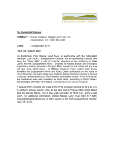 ADK-Green Mile Press Release.doc