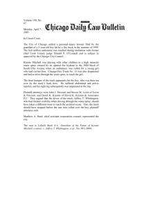 Chicago Daily Law Bulletin article