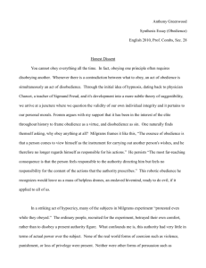 Honest Dissent(Synthesis Essay).doc
