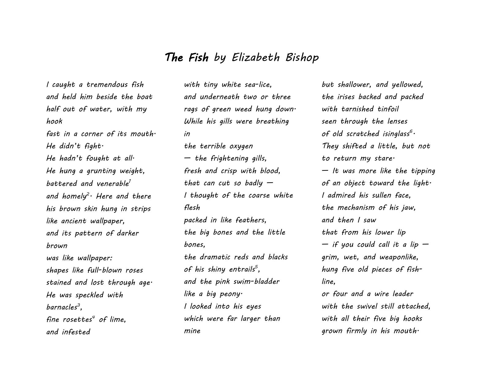 bishop the fish pdf