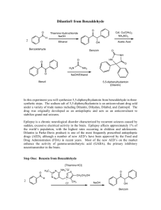 Dilantin® from Benzaldehyde
