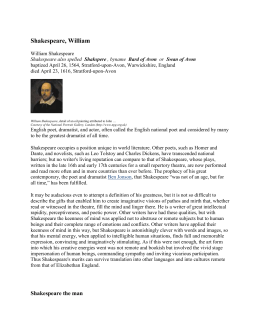 Shakespeare Biography shakespeare_biography.doc