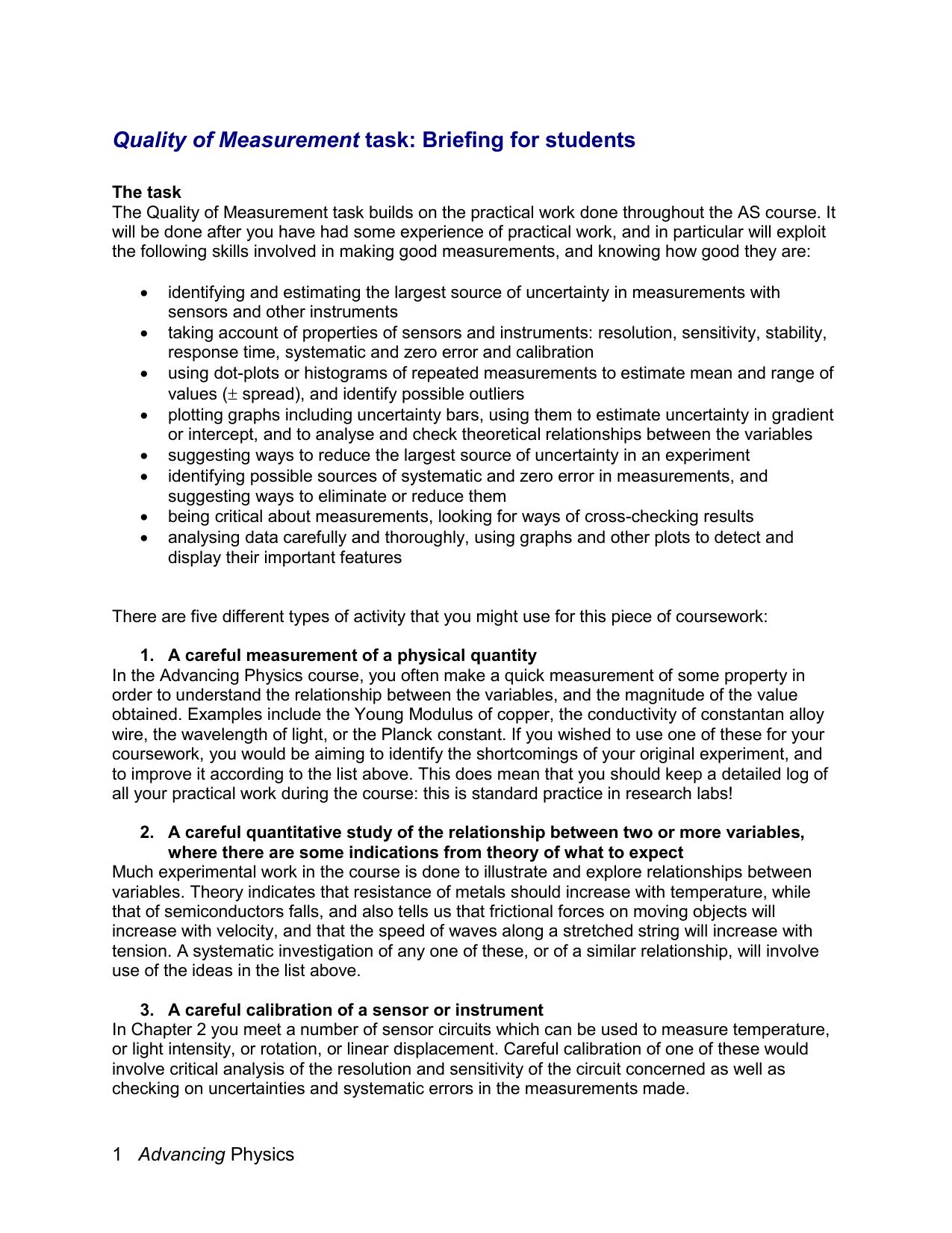 Physics data handling coursework mass media essay questions