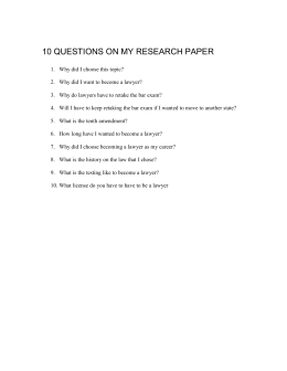 10 questions on my research paper