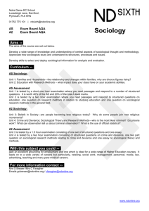 Size: 92 kB 3rd Dec 2014 Sociology
