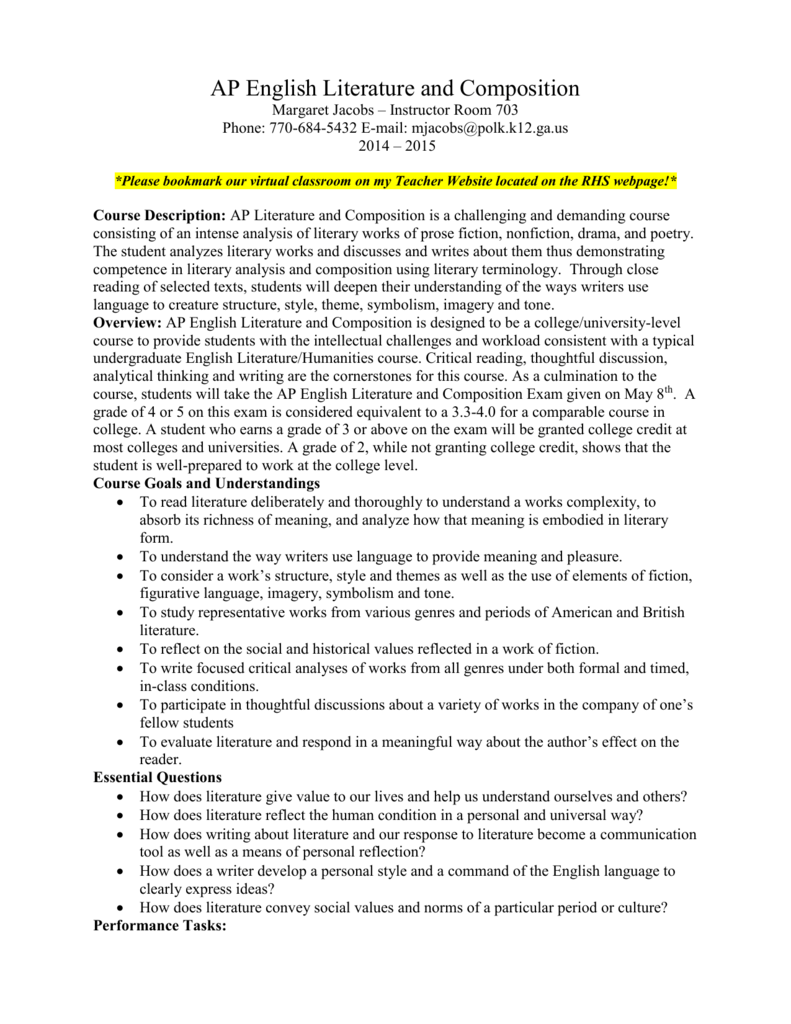 Effect Essay Examples  The Color Purple Essay also Example Of A Cause And Effect Essay Ap English Literature And Composition Penn State College Essay
