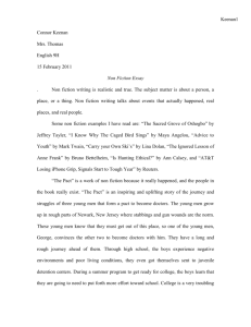 Non Fiction The Pact Essay.doc