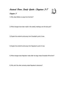 animal farm study guide answer key