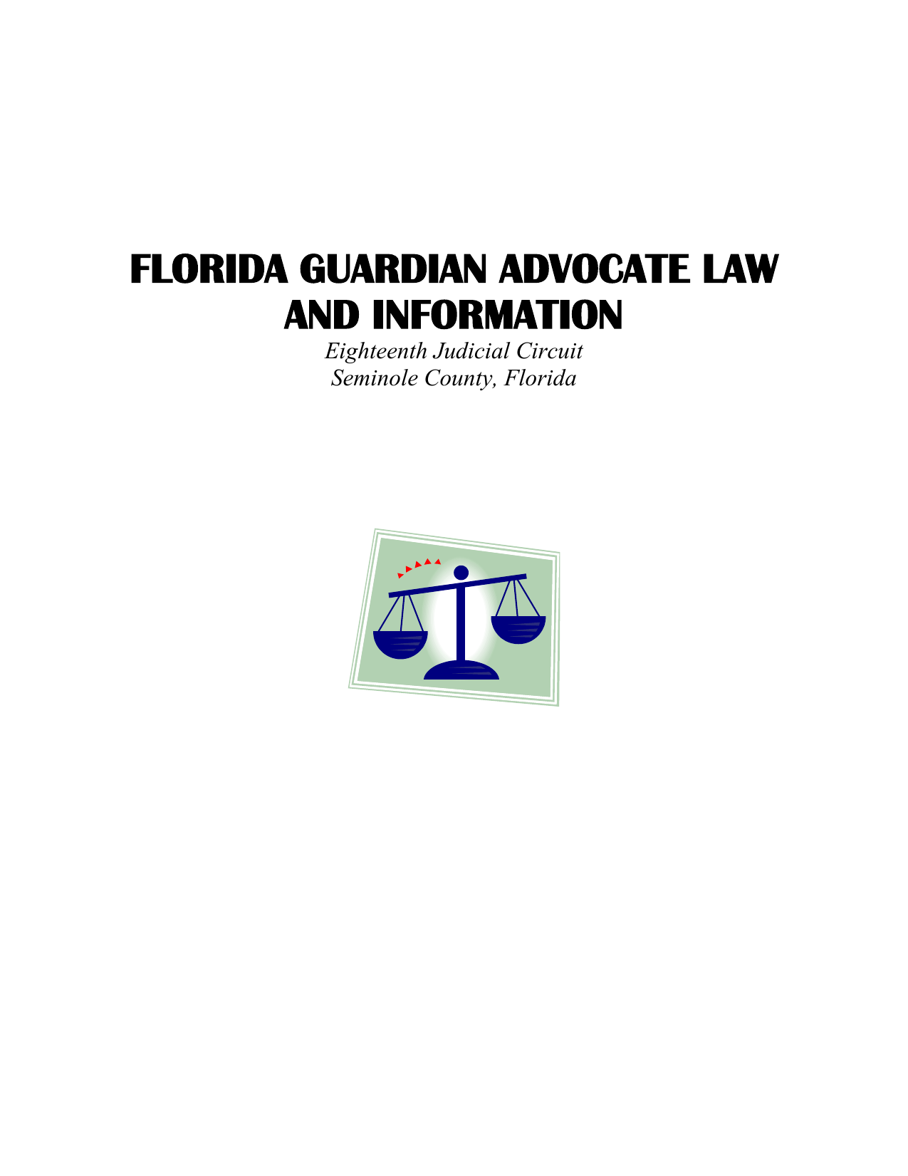 florida guardian advocate law and information