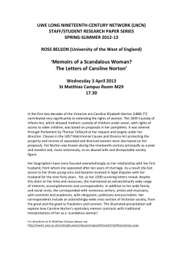 Ross Belson research paper - University of the West of England