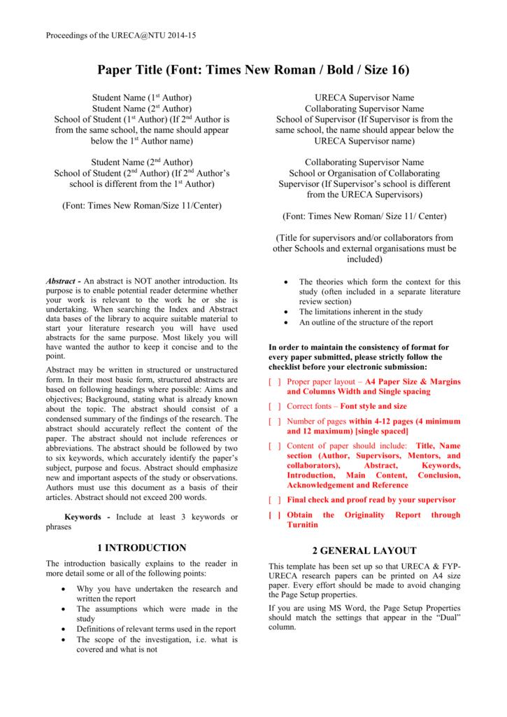 ntu thesis turnitin