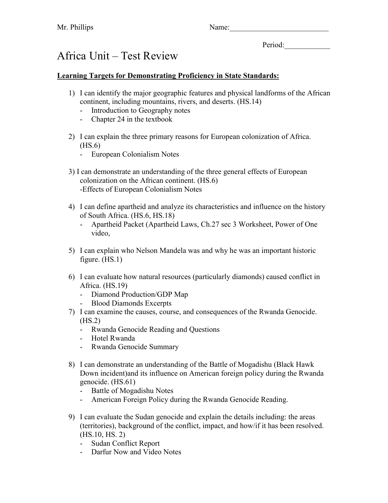 worksheet Hotel Rwanda Worksheet latin america map