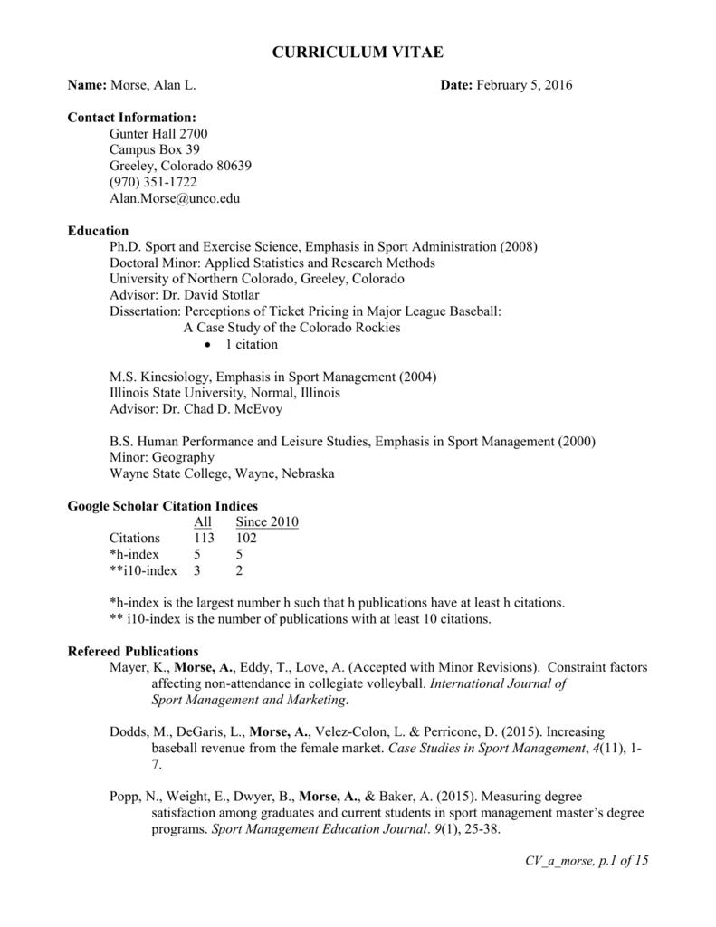 unco dissertation proposal