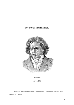 Beethoven-and-His-Hero