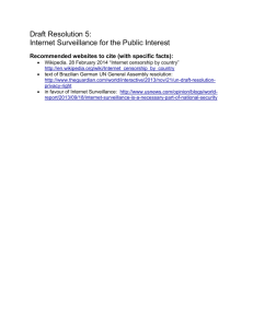 Resolution 5 - Internet Surveillance.doc