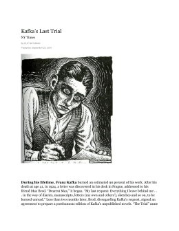 an analysis of metamorphosis by franz kafka on reality News analysis: khurana's welcome email to students is normally short and  sweet  david levine has drawn a wonderful caricature of franz kafka: the  familiar  upon the body of the giant beetle of metamorphosis, typing at his  desk  finally rising to some statement like the dream reveals the reality,.