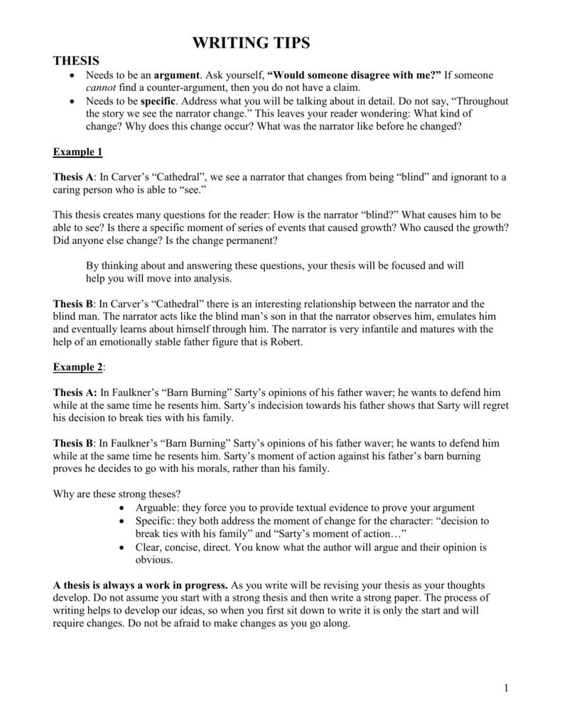 thesis summary doc