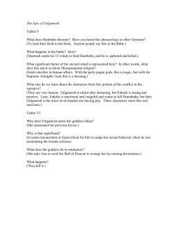 Example Of Proposal Essay The Epic Of Gilgamesh  Geneva Classical Academy What Is The Thesis Of A Research Essay also What Is A Thesis Statement In A Essay Gilgamesh Essay Assignmentnovdoc Paper Vs Essay