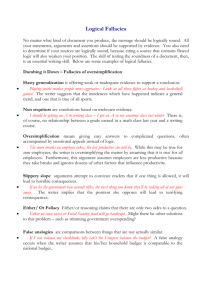Logical Fallacies Handout and ExerciseLaurin.doc