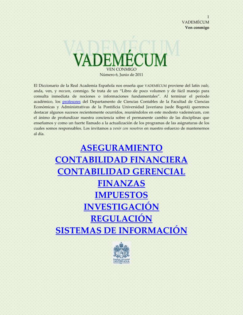 9e9b3996688ac Ven conmigo - Pontificia Universidad Javeriana
