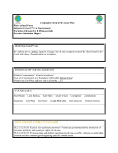 Geography Integrated Lesson Plan