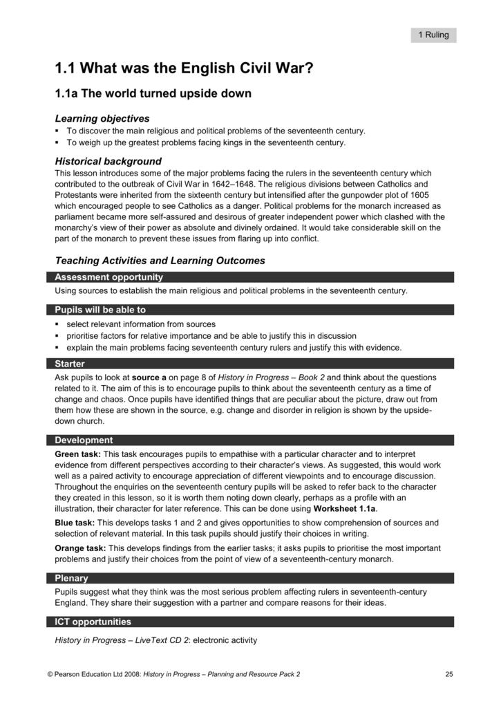 image regarding Civil War Printable Worksheets called Background inside Enhancements Civil War Worksheet