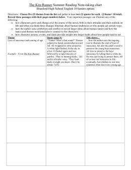 Kite Runner Chart.doc - BHS English 10 Honors Option