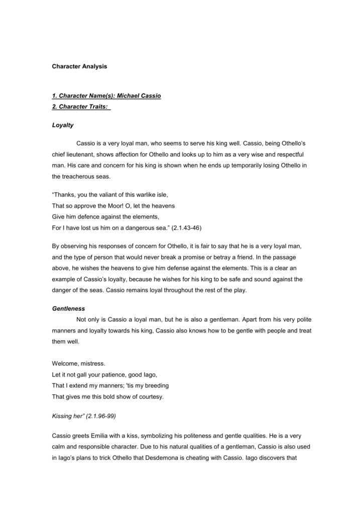 emilia in othello character analysis