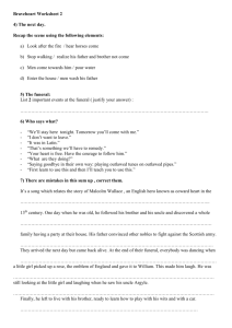 Braveheart Worksheet 2