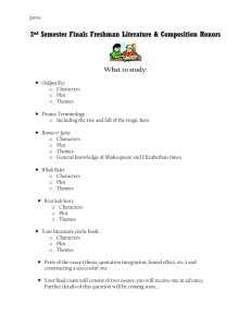 Finals Review Sheet