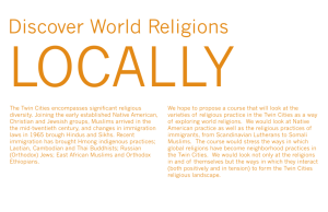 The Twin Cities encompasses significant religious diversity. Joining