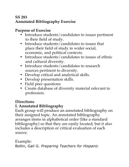 analytical bibliography example