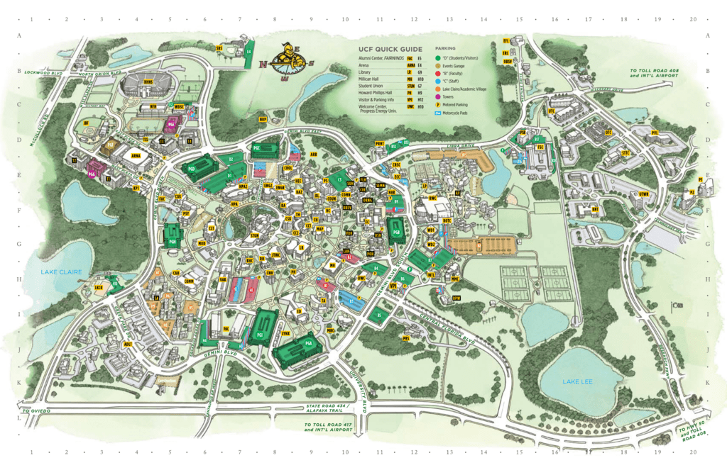 UCF QUiCk gUiDE - UCF Parking Services on